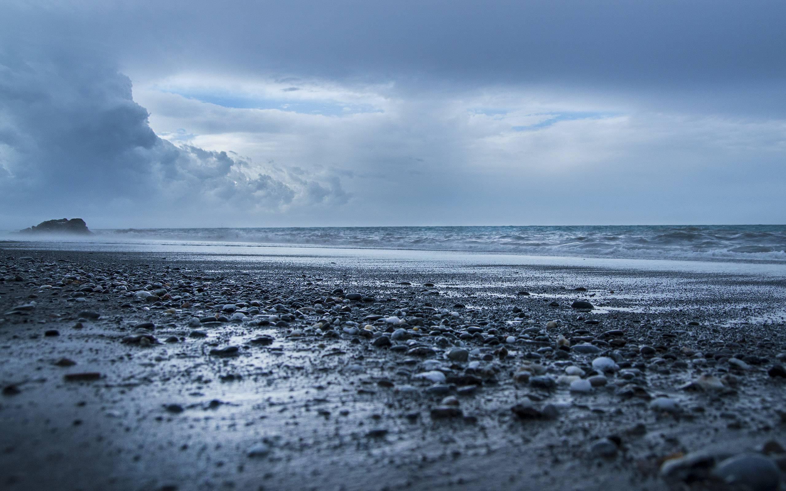La plage par Renato Giordanelli